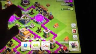 Meine burg clash of clans 1#