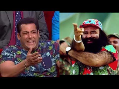 Salman Khan Reaction on Baba Gurmeet Ram Rahim  Salman Khan vs Baba Ram Rahim