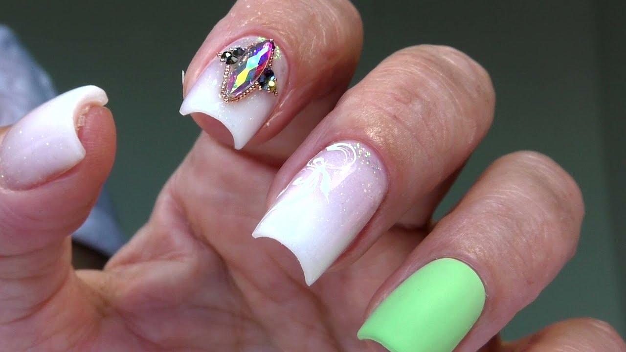 Арочная коррекция ногтей самой себе