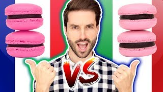 DUEL RECETTE MACARON FRANÇAIS VS ITALIEN - CARL IS COOKING
