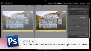 Die »Dunst entfernen«-Funktion in Lightroom CC 2015 – Die Photoshop-Profis – Folge 209