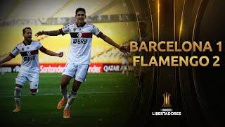 Barcelona SC vs. Flamengo [1-2] | RESUMEN | Fase de Grupos | Jornada 4 | CONMEBOL Libertadores 2020