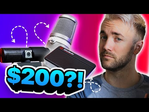 The Streaming Starting Kit?? Only $200 For A Capture Card, Camera, And USB Microphone??