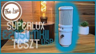 USB Stúdiómikrofon olcsóért?   Superlux E205UMKII USB   The Lux