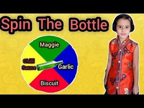 Spin The Bottle Food Challenge || Chinu and Manu || Bloopers || Fun || Masti ||