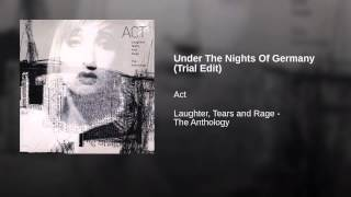 Under The Nights Of Germany (Trial Edit)