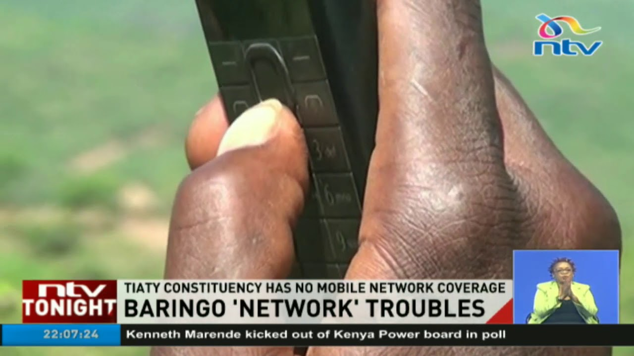 A village in Kenya where mobile network coverage is just but a dream