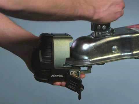 About Master Lock Universal Trailer Coupler Lock