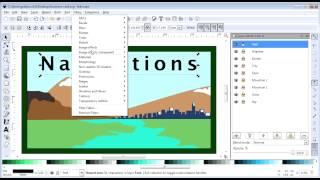 Inkscape - Activity 04 - Business Card - Part 08 - Text