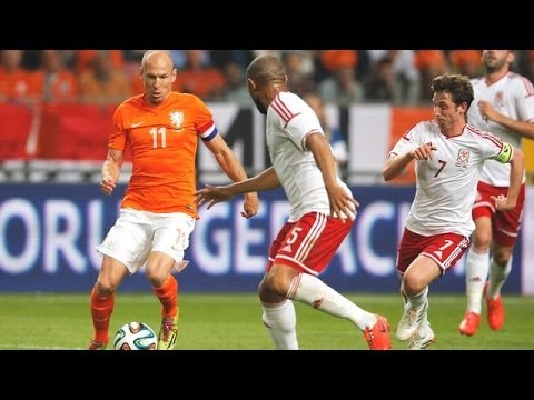 04.06.2014 Netherlands vs Wales 2:0 Highlights