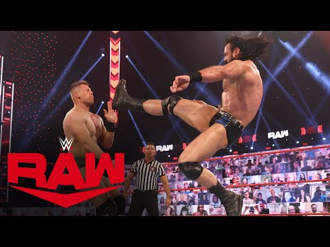 Drew McIntyre vs. The Miz: Raw, Mar. 15, 2021