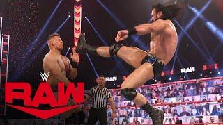 Drew McIntyre vs. The Miz: Raw, Mar. 15, 2021