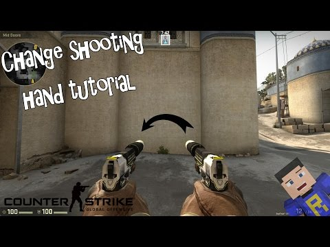 How to change/switch your shooting hand in CS:GO