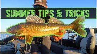 Summer Walleye Fishing Tips and Tricks