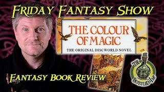 'The Colour of Magic' by Terry Pratchett - Fantasy Book Review