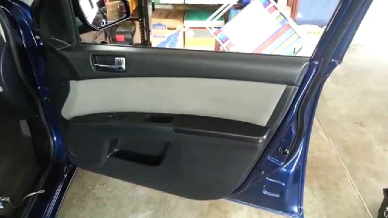 2012 Nissan Sentra Interior Door Panel Remove To Upgrade