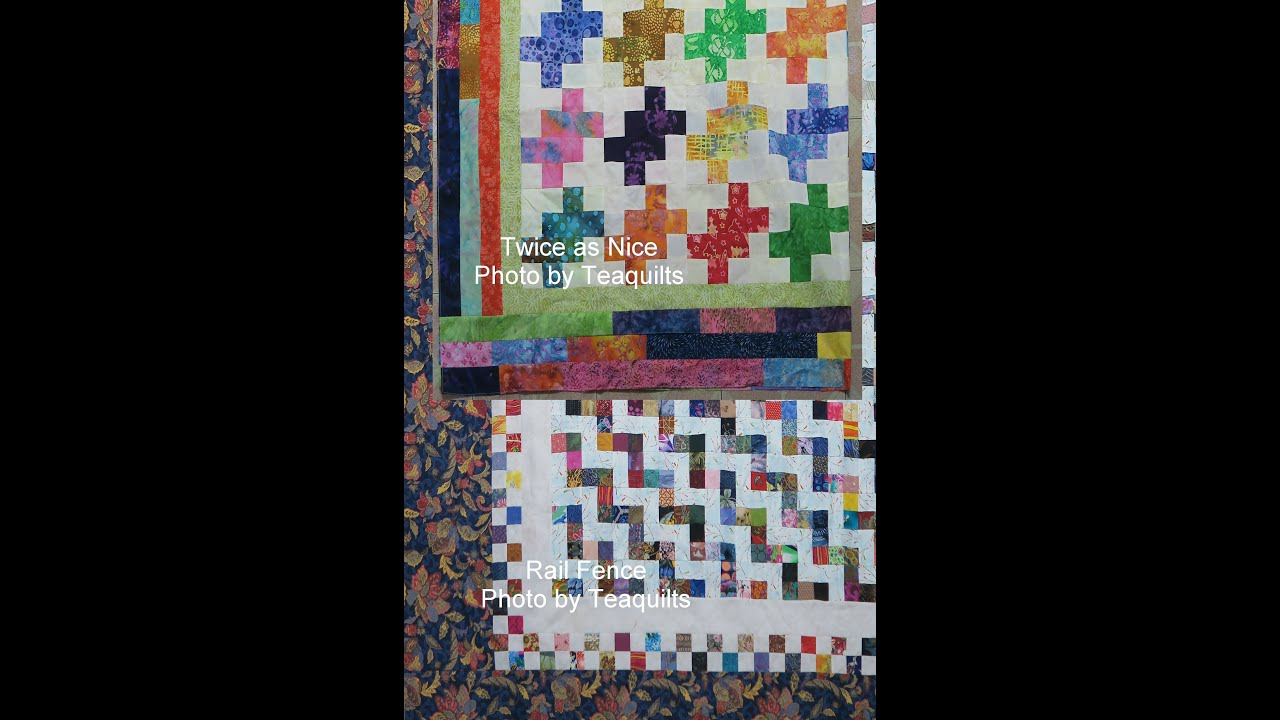 Two Scrappy Quilt Borders Ideas - YouTube : border quilt - Adamdwight.com