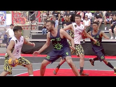 3x3 JAPAN TOUR in 浅草 1回戦 UNDER DOG vs LIBERTY TOKYO