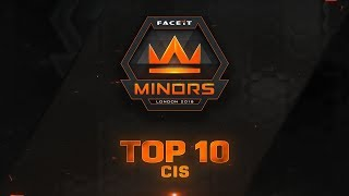 top 10 plays of cis minor feat woxic def davcost