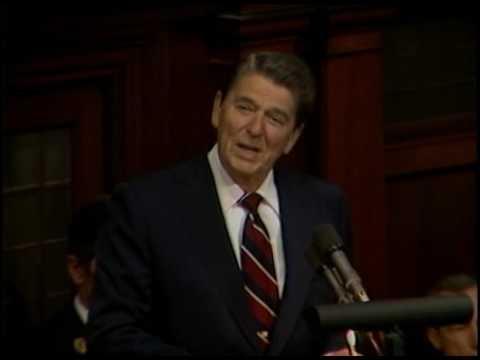 President Reagan's Speech to the Irish National Parliament, Dublin, Ireland June 4, 1984