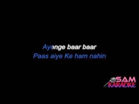 Lag Ja Gale Sanam Puri Full Karaoke Remake