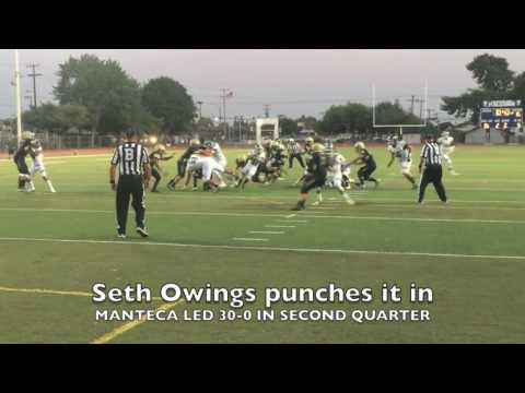 Week Zero Football - Manteca High Buffaloes 37, Buhach Colony Thunder-Atwater 13