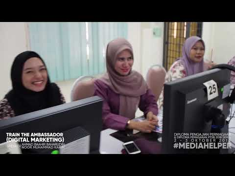 TRAIN THE AMBASSADOR (DIGITAL MARKETING) PTSB 2018 #MEDIAHELPER