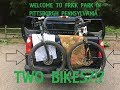 Mountain Biking Frick Park- Rollercoaster and Iron Grate Trails