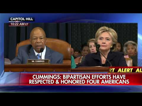 Rep. Elijah Cummings slams Republicans on the House Benghazi Committee.