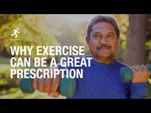 Why exercise is a great prescription