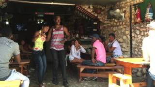 Rumbeando at El Barracón, Callejón de Hamel, La Habana, Cuba