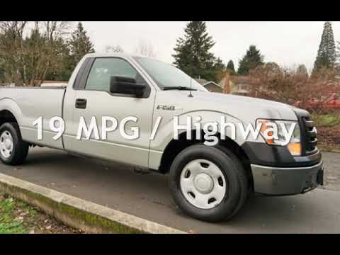 2009 Ford F-150 XL V8 4.6L Automatic Work Truck 8 FT Bed 1 OWNER for sale in Milwaukie, OR