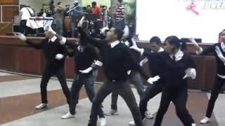 Grupo Church Dancing da FJU Catedral de Del Castilho.