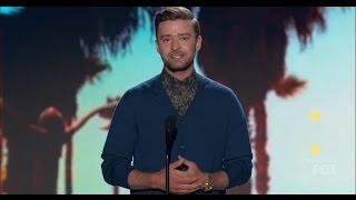 Justin Timberlake at Teen Choice Awards 2016 HD