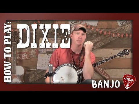 How to play Dixie on the Banjo!