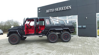MERCEDES-BENZ G 63 AMG 6X6 BRABUS 700HP ONE OF ONE ! 1 MILLION DOLLAR BABY ! SEREDIN GERMANY