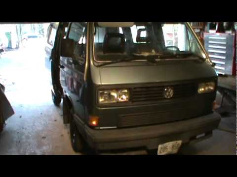 vw westy is in the house