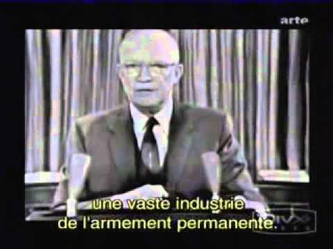 Eisenhower met en garde contre le lobby militaro-industriel