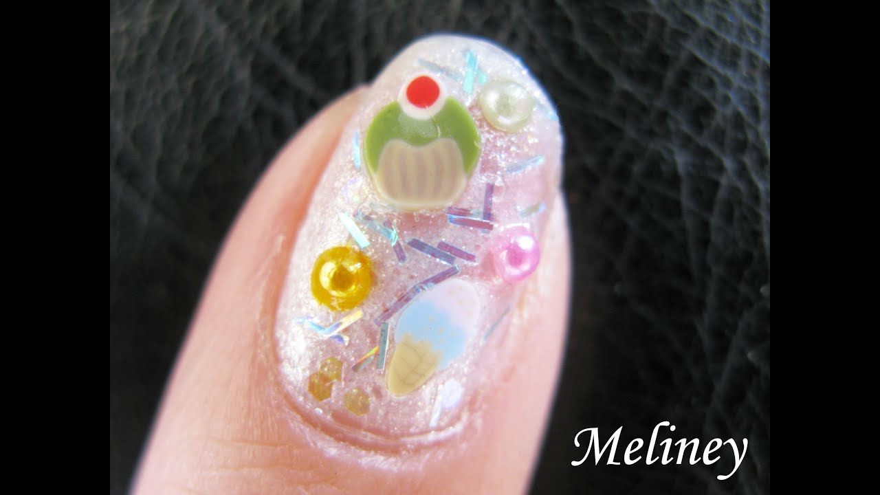 New years dessert party birthday nails ice cream cupcake nails new years dessert party birthday nails ice cream cupcake nails fimo nail art tutorial design cute youtube prinsesfo Gallery