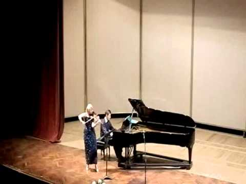 Gershwin Rhapsody in blue (arr. for violin and piano by Thierry Huillet) by Cernat and Huillet live