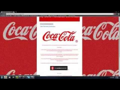 Working <b>My coke Rewards</b> Generator! Free ! - YouTube