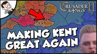 Trying to Make a Powerful English Kingdom on Crusader Kings 2 CK2
