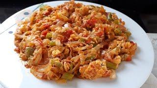 Domatesli Soğan Kavurması - Hülya Ketenci - Kahvaltılık Tarifler