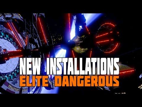 Elite Dangerous - The New Installations/Bases (Farms, Bars, Tourism and More)