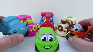 tractors for babies with clasical music real construction vehicles at work and soe tracor toys