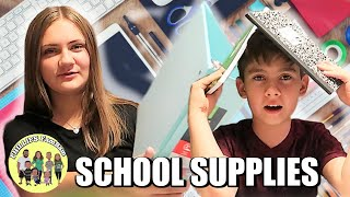 BACK TO SCHOOL SUPPLY SHOPPING for MIDDLE SCHOOLERS | SCHOOL SUPPLY HAUL FOR KIDS
