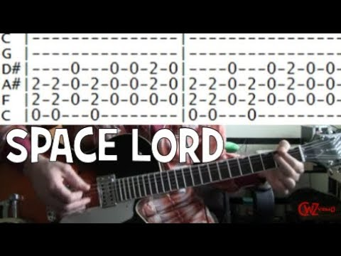 Guitar Lesson Monster Magnet Space Lord Tab Youtube