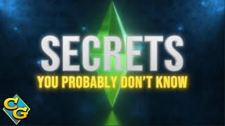 😏👉  25+ of the Best Secrets in The Sims 4