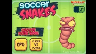 Soccer Snakes Game Video Walkthrough