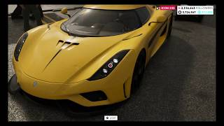 The Crew 2 - 2015 Koenigsegg Regera - Customization & Test Drive